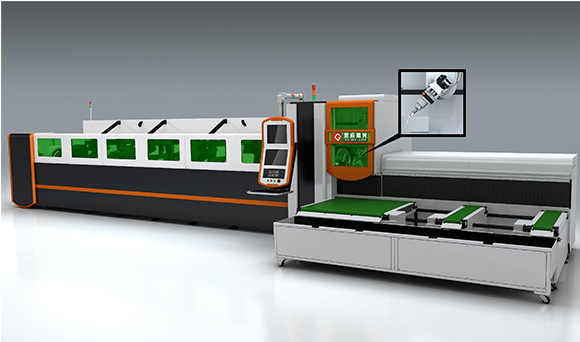 3D 5-axis Laser Tube Cutting Machine P2060A-3D / P3080A-3D