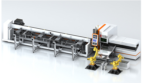 Fiber Laser Tube Cutting Machine FMS