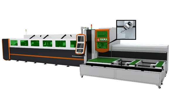 3D 5-axis Laser Tube Cutting Machine