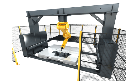 3D Robot Laser Cutting Machine